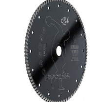 DISCO DIAMANTATO UNIVERSALE D. 115 mm TURBO NERO