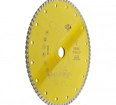 DISCO DIAMANTATO UNIVERSALE D. 115 mm TURBO GIALLO